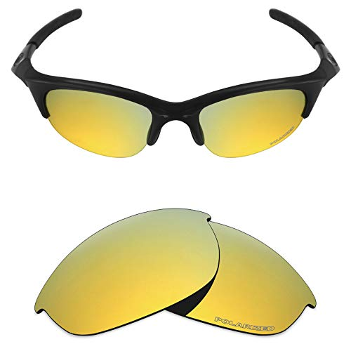 - Mryok+ Polarized Replacement Lenses for Oakley Half Jacket - 24K Gold