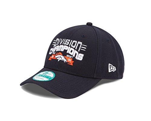 NFL Denver Broncos 2014 Division Champs 9Forty Adjustable Cap, One Size Fits All, ()