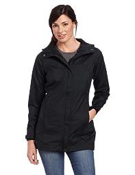 Columbia Women\'s Splash A Little Rain Jacket, Large, Black