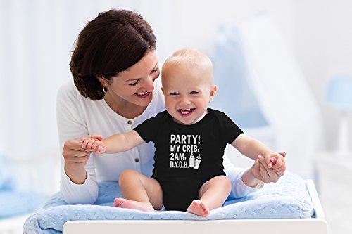 AW Party! My Crib, B.Y.O.B. Cute Funny Infant One-Piece