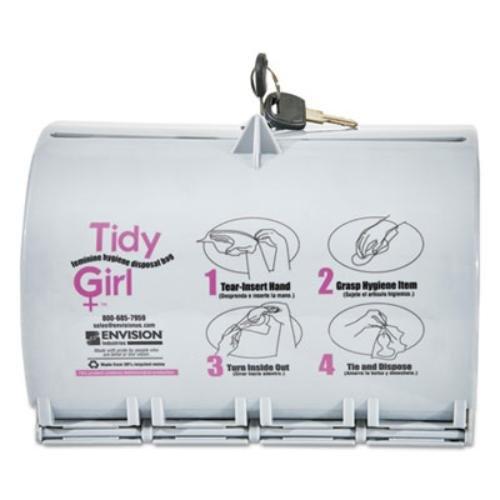 STOTGUDPV2 - Stout Tidy Girl Plastic Feminine Hygiene Disposal Bag Dispenser