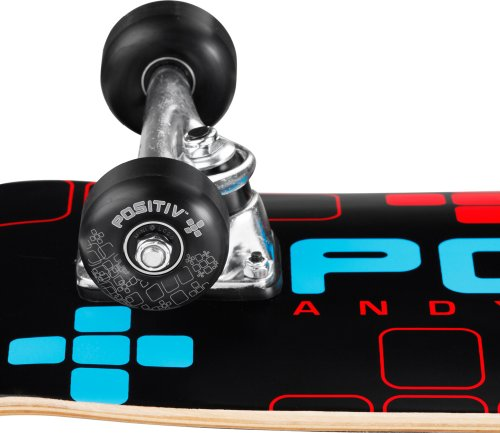"POSITIV? Skateboards Andy Mac ""Digital Series"" Assembly 8"""