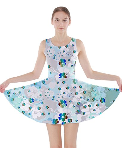 CowCow Damen Kleid Mehrfarbig Gr. X-Small,  - Mint Hawaii
