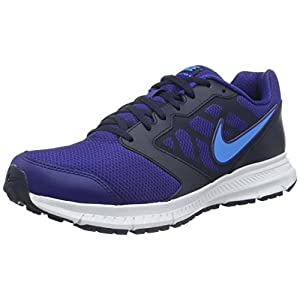 Nike Men's Downshifter 6 DP Ryl Blue/BL Glw Obsdn White Running Shoe 10 Men US