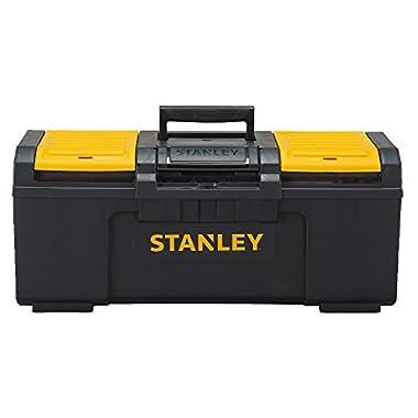 Stanley 24  Black & Yellow Auto Latch Tool Box