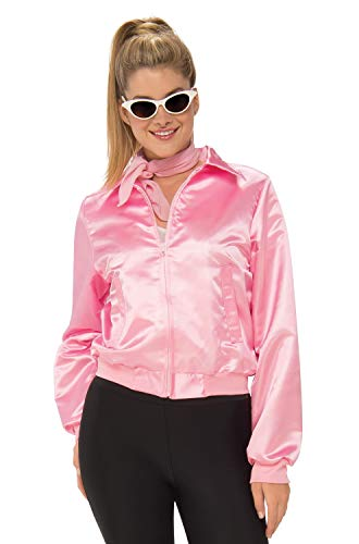Grease Halloween Costumes Plus Size (Rubie's Costume Co Grease 50's Pink Ladies Plus Size Jacket Plus)