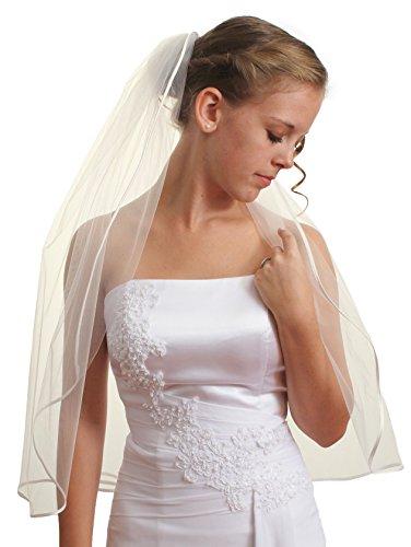 Elbow Bridal Wedding Veil - 6