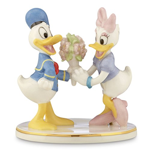 Lenox Classics Disney's Donald & Daisy Together Forever -
