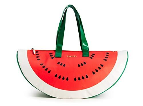 Ban.do Super Chill Cooler Bag, Watermelon, Red/Green -