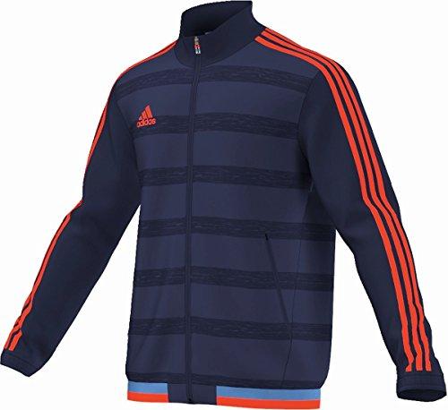 Tessuto Giacca X Calcio Arancio Adidas silo Navy qwSEnza