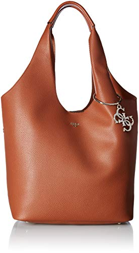 GUESS Flora VG Large Hobo, Cognac (Guess Hobo Handbags)