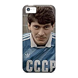 Protection Cases For Iphone 5c / Cases Covers For Iphone(rinat Dasaev Soviet Football)
