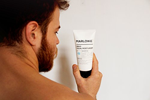 MARLOWE. No. 123 Men's Facial Moisturizer 6 oz   Lightweight Daily Face Lotion for Men   Best for Dry or Oily Skin   Made with Natural Ingredients & Anti-Aging Extracts by Marlowe (Image #5)