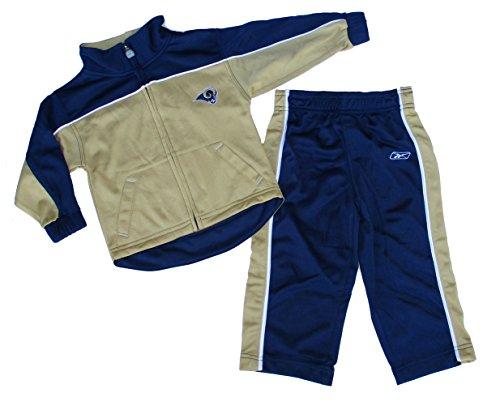 St. Louis Rams Toddler Windsuit Set Size 4T - Team -