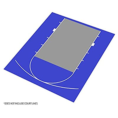 IncStores Outdoor Basketball Court Flooring - Half Court Kit 20'x24'