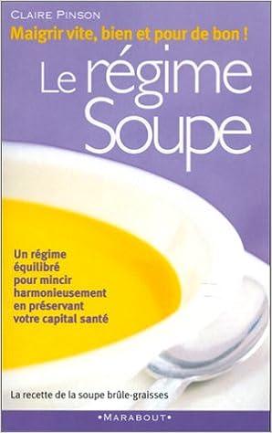 Soupe de régime au chou