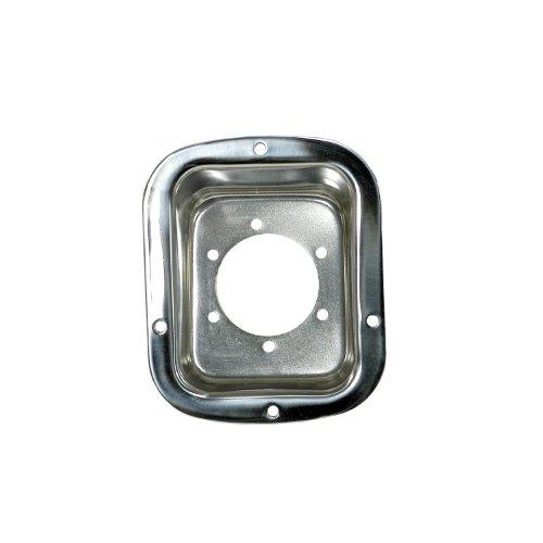 (Rugged Ridge 11135.01 Stainless Steel Gas Filler Housing)