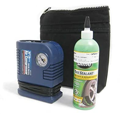 Amazon.com: MINI Cooper / Cooper S Slime Emergency Flat Tire Mobility Repair Kit - Compressor Sealant & Bag: Automotive