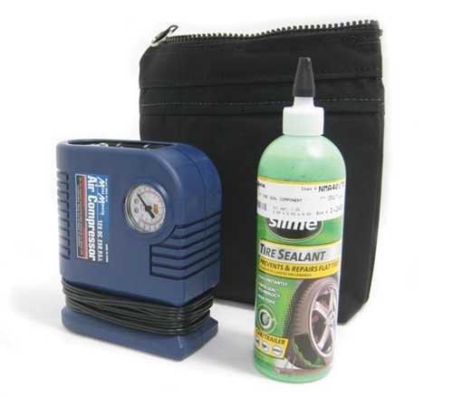 MINI Cooper / Cooper S Slime Emergency Flat Tire Mobility Repair Kit - Compressor Sealant & Bag Mini Mania