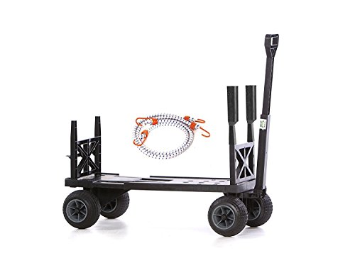 Mighty-Max-Cart-SU600DBG-Sports-Fishing-Utility-Cart-with-All-Terrain-Weatherproof-Wheels