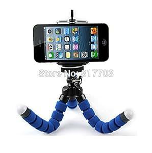 ARBUYSHOP mini cámara digital flexible de la pierna del pulpo del soporte del trípode + soporte para teléfono para Sony Canon Nikon DSLR envío gratuito