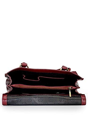 Phive Rivers , Sac pour femme à porter à l'épaule Rouge Bordeaux Taille unique