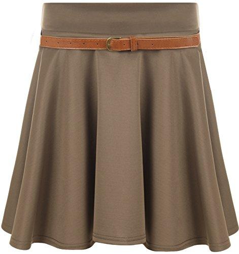 une Mini ceinture avec vase Brun 42 Jupes jupe 36 Tailles WearAll Femmes 6fwC7q6