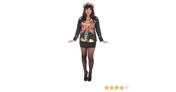 LLOPIS - Disfraz Adulto Camiseta Catrina: Amazon.es: Juguetes y juegos