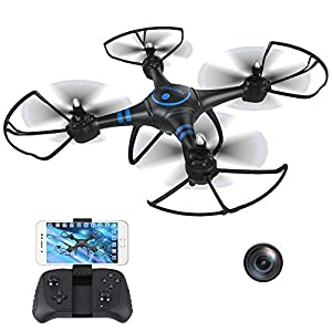 Flashandfocus.com 41F1F8zj8BL._SS300_ AKASO A31 Drone with Camera WiFi 1080P FPV Live Video RC Quadcopter Drone for Beginners Adults Kids, Bright LED Light…