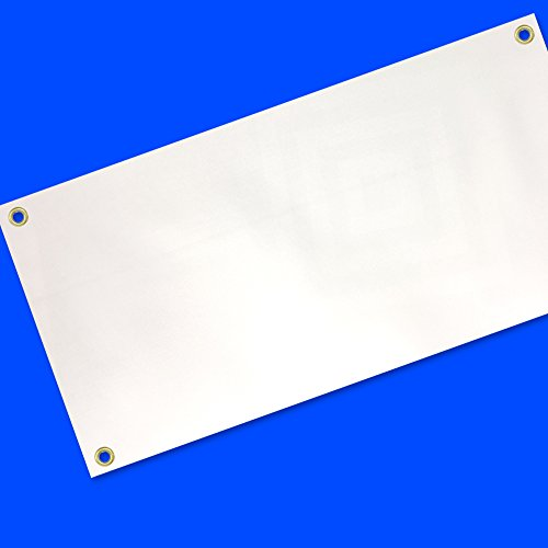 2x4 Ft Blank Vinyl Banner White Sign (Outdoor Banner)