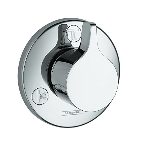 Hansgrohe 04354000 E/S Trio/Quattro Trim, Chrome (Trio Diverter)