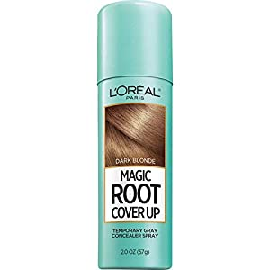 L'Oreal Paris Hair Color Root Cover Up Concealer Spray, Dark Blonde, 2 Ozs