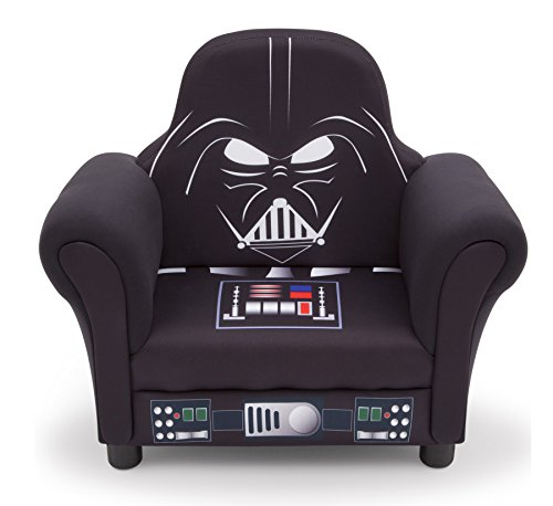 Delta Children Star Wars Deluxe Upholstered Chair, Darth Vader