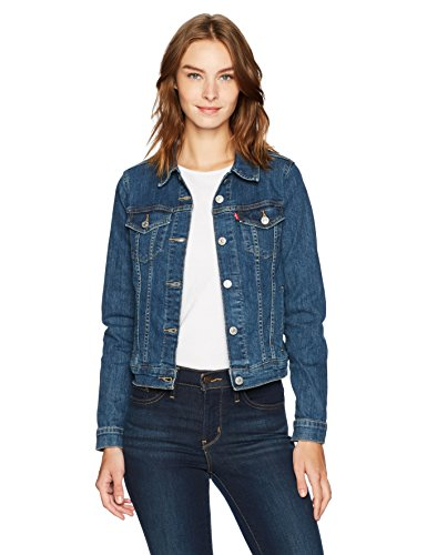(Levi's Women's Trucker Jackets Original, Sweet Jane, X-Large)
