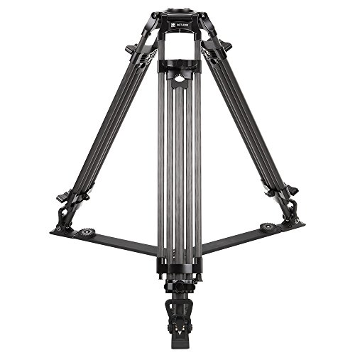 Sirui BCT-2203 3-Section 10 Layer 10x Carbon Fiber Video Broadcast Tripod, 22 Lbs Capacity, 63'' Max Height by Sirui