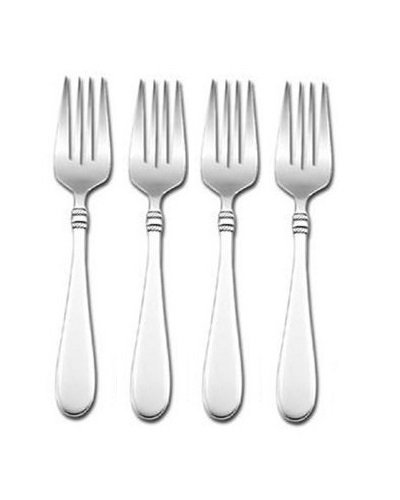 Next Day Gourmet Balustrade Salad Forks, Set of 4 by Next Day Gourmet