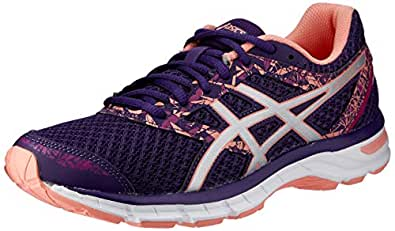ASICS Australia Gel-Excite 4 Women's Running Shoe, Grape/Silver/Begonia Pink, 8 US