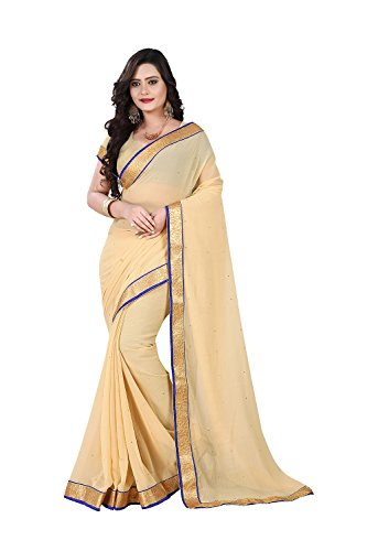 SEs Indian Women Designer Party wear Cream Saree Sari