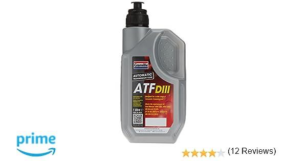 Granville 0224 ATF Dexron III - Líquido para transmisiones automáticas y dirección asistida (1 l)