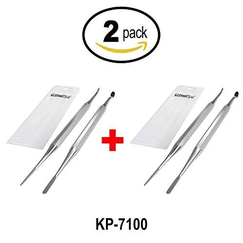 Kohm Bundle of 2 Items: KP-7100 Ingrown Toenail File & Lifter Set (2 Pack) by wholehealthsupply