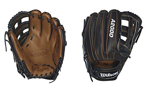 Wilson A2000 PP05 Infield Baseball Glove, Black/Saddle Tan, Right Hand Throw