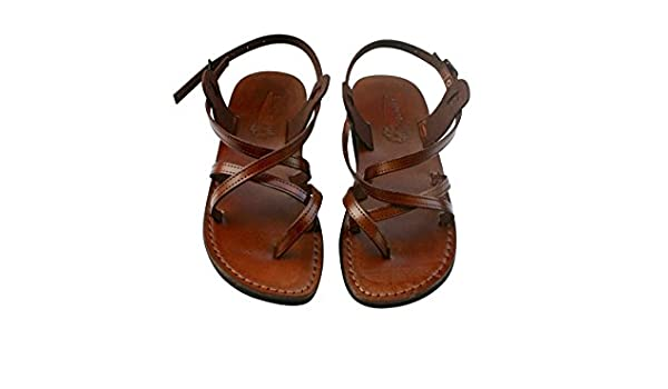 5470d9570b6b Amazon.com  VEGAN Triple Sandals For Men   Women - Handmade Unisex Sandals