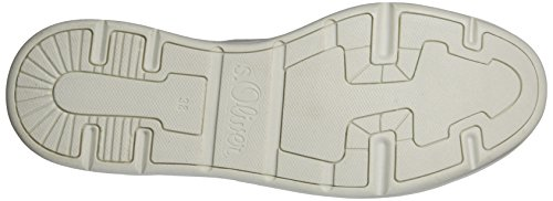 Oliver 110 s para Comb 23617 Mujer Blanco White Zapatillas vBqABTd