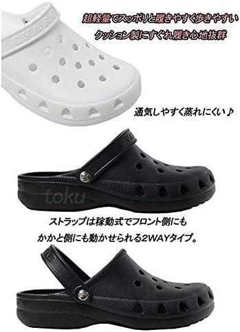 訳あり 日本製 エバロン2WAYサンダル ナース・オフィスサンダル メンズ ホワイト・ブラック 3