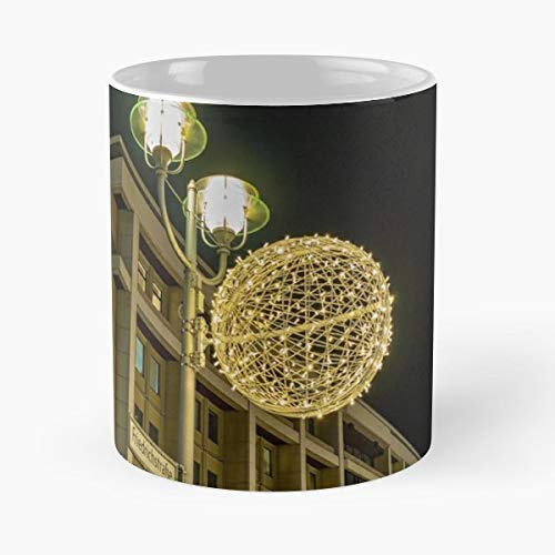 Balls Christmas Corner Crossing -funny Present For My Greatest Boss Male Or Female, Men, Women, Great Office Gift Mugs, Birthday, Leaving, Bold, Cup, 11 Oz