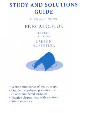 Precalculus: Study and Solutions Guide