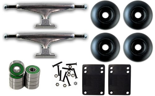 (INDEPENDENT 149mm SKATEBOARD TRUCKS, Wheels, ABEC 7 BEA)