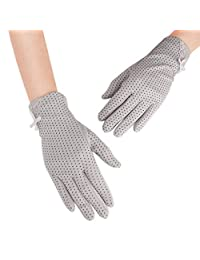 Summer Women Touchscreen Glove Breathable UV Protection Anti-skid Mittens Sun Proof Gloves