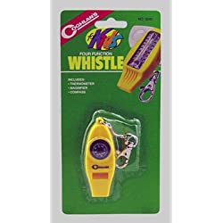 Coghlan's 4 Function Whistle For Kids Camping Gear
