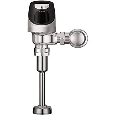 Sloan SOLIS 8186-0.25 SOLIS Exposed, Solar Powered, Automatic Urinal Flush Valve - 0.25 GPF High Efficiency